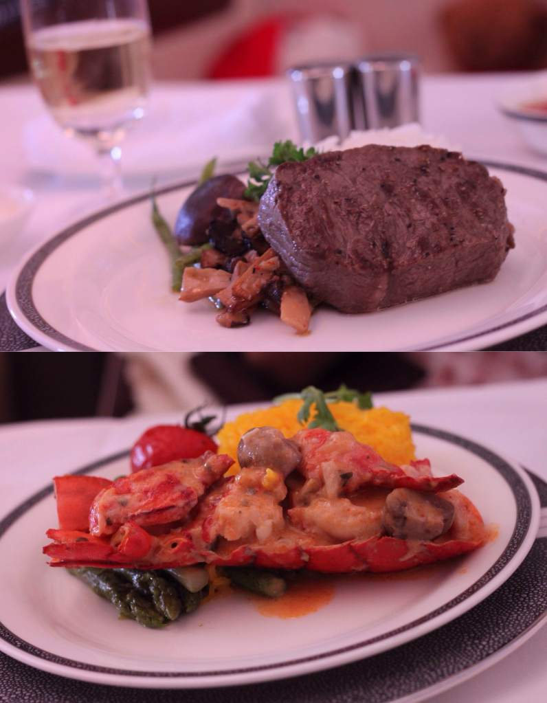 Wagyu and Lobster