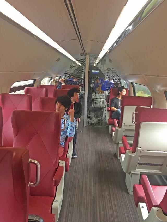 Thalys EuroTrain First Class – Chai Bear World
