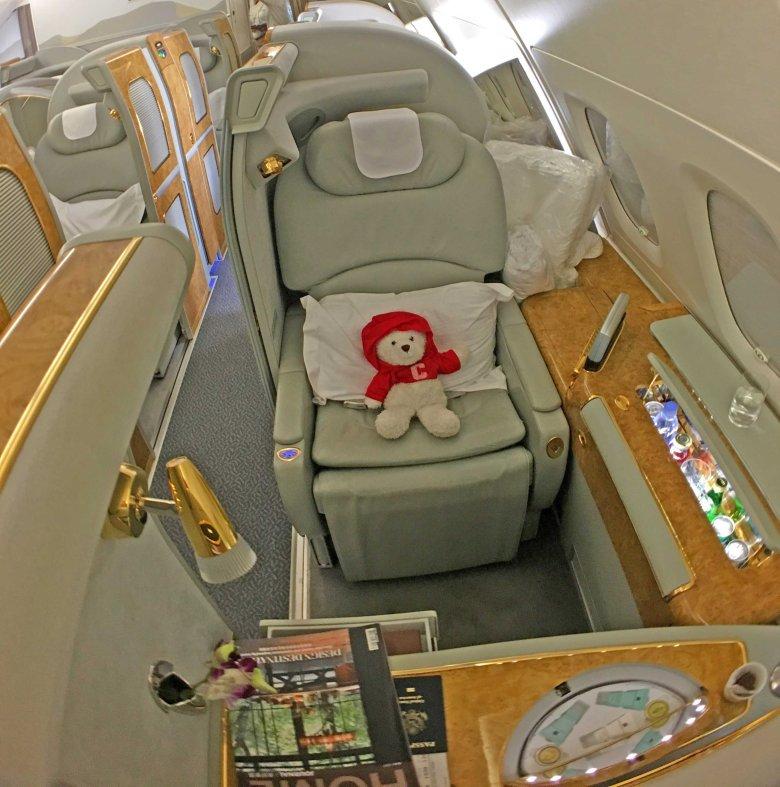 emirates seat