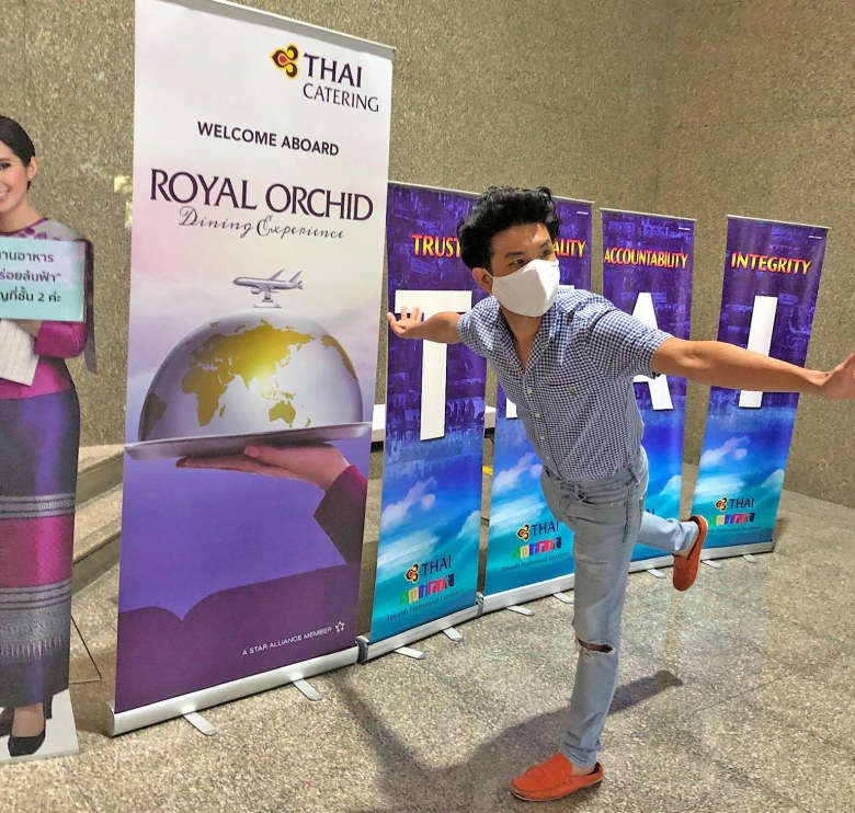 thai airways headquarter entrance