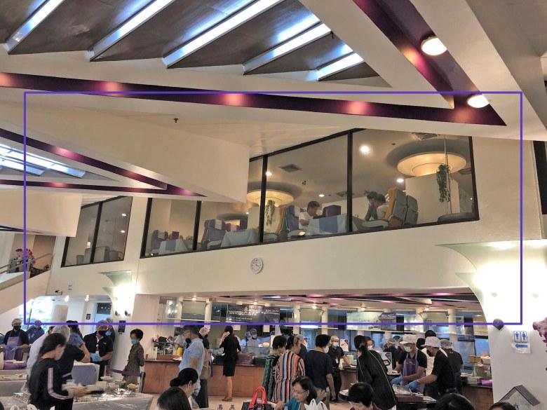 thai airways airplane restaurant