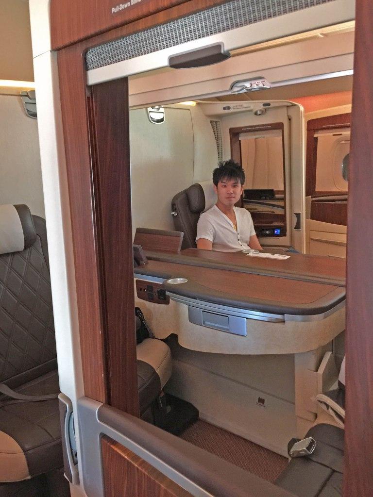 Singapore Airlines Original A380 Suite Class
