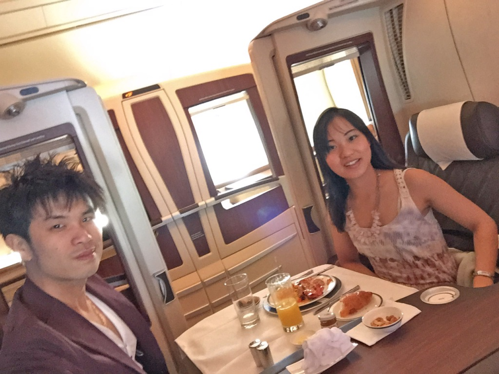 Singapore Airlines Suite Class Date Night