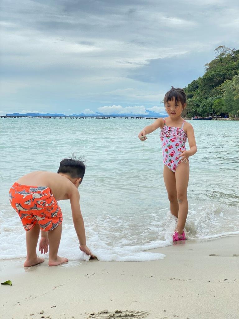 Soneva Kiri Private Beach