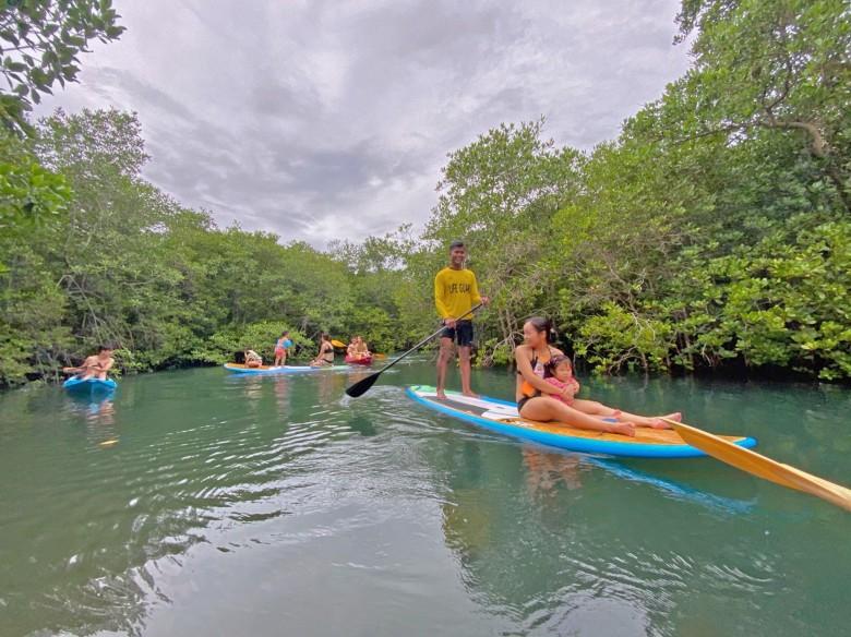 Soneva Kiri Paddle Board
