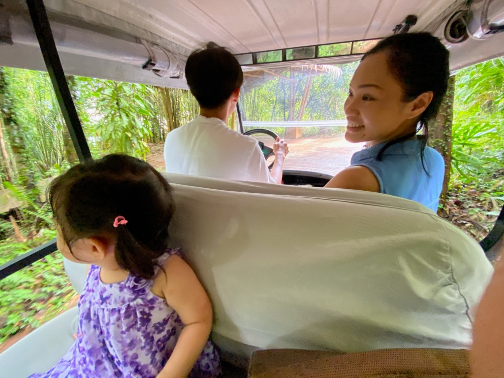 Soneva Kiri Personal Buggy Golf Cart