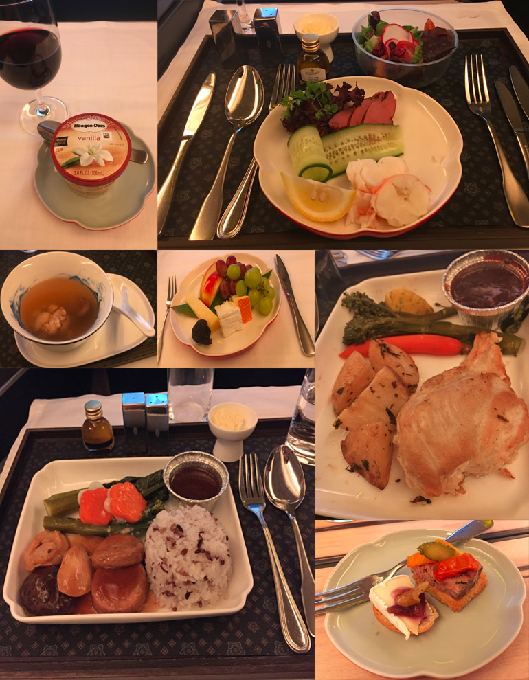 China Airlines Dining